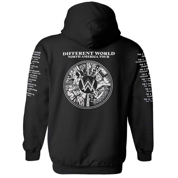 ALAN WALKER Different World Tour (USA) Hoodie