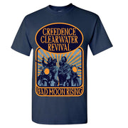 CREEDENCE CLEARWATER REVIVAL Bad Moon Rising T-Shirt