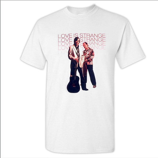 JACKSON BROWNE & David Lindley Love Is Strange Album Tshirt