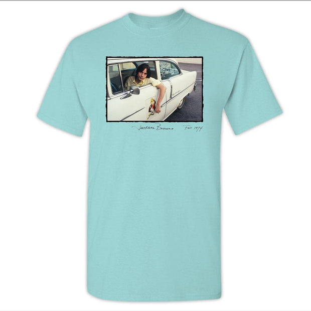 JACKSON BROWNE 1974 Car Photo T-Shirt