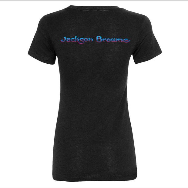 JACKSON BROWNE Late For The Sky Ladies Tee