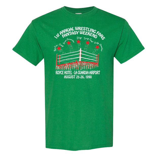 PWS Fantasy Weekend 1990 T-Shirt - Green