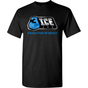 3ICE The Best Part Black T-Shirt