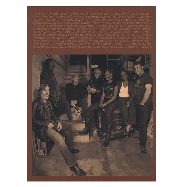 "JACKSON BROWNE ""Time The Conqueror"" Tour Book"