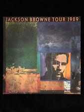 JACKSON BROWNE 1989 Tour Program Book