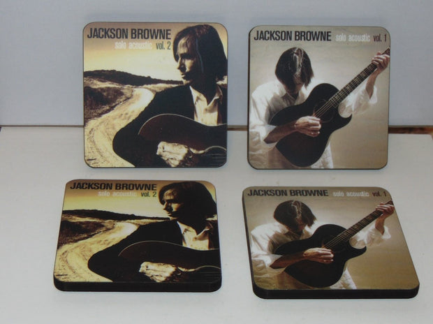 JACKSON BROWNE Coaster Set Volume 1&2
