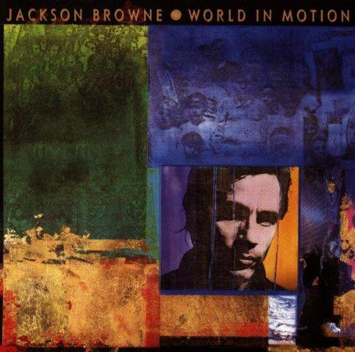JACKSON BROWNE World In Motion (1989) CD
