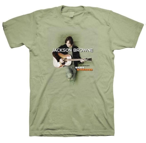 JACKSON BROWNE 2012 Summer Tour With Sara Watkins T-Shirt