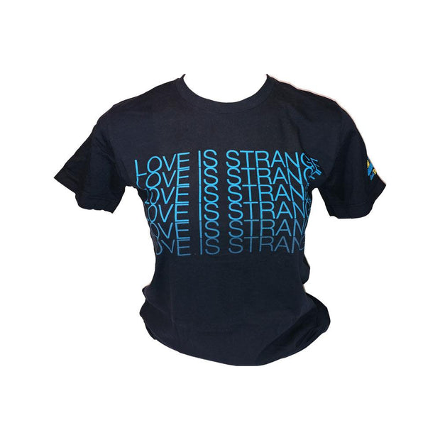 JACKSON BROWNE Navy Love Is Strange - 2010 Tour T-Shirt