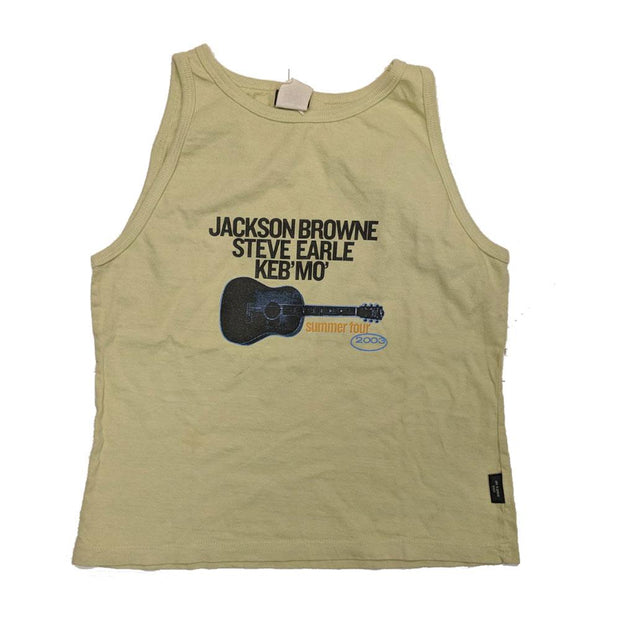 JACKSON BROWNE 2003 Summer Tour-Steve Earle Ladies Tank Top