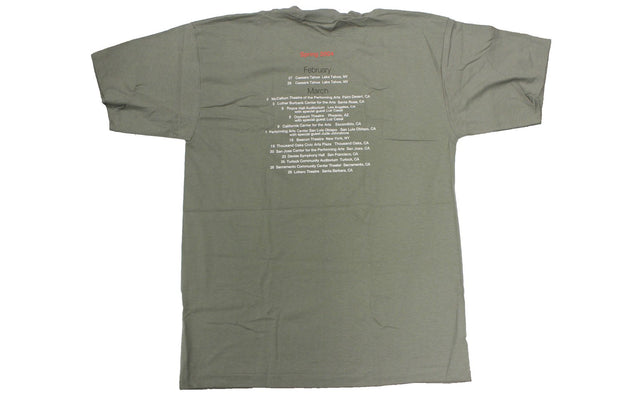 JACKSON BROWNE Spring 2004 Tour shirt