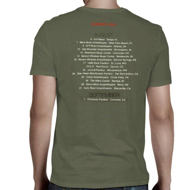 JACKSON BROWNE Summer 2002 T-Shirt