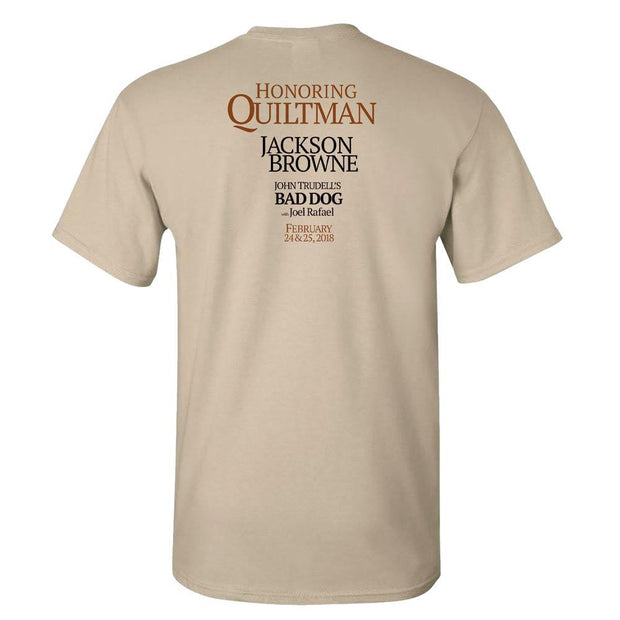 JACKSON BROWNE - Benefit for Quiltman T-Shirt