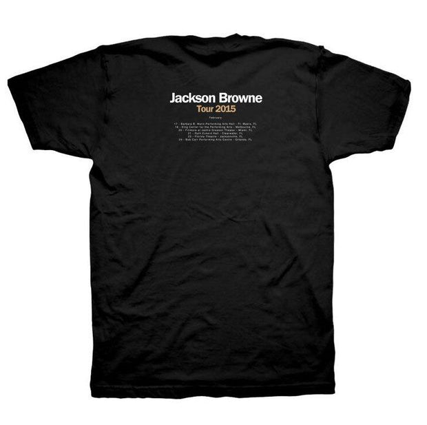 JACKSON BROWNE Standing In The Breach 2015 Tour T-Shirt