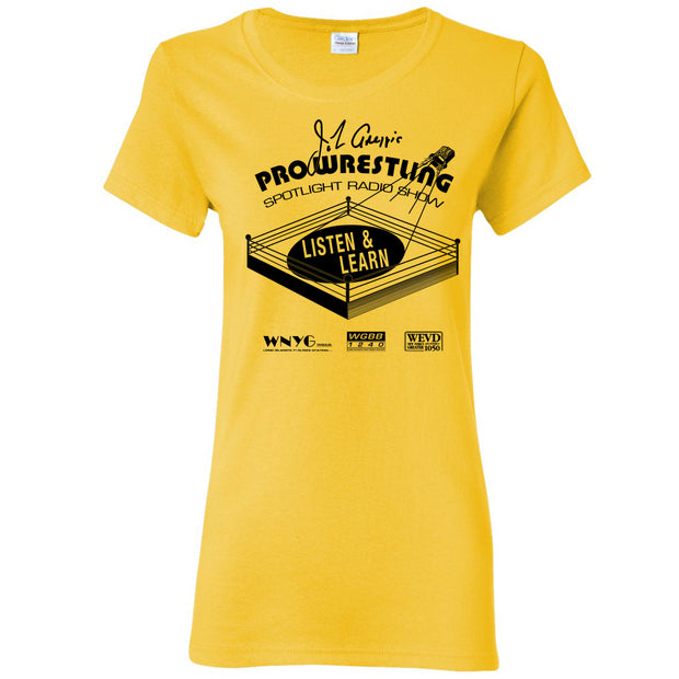 PWS Listen & Learn T-Shirt - Yellow Haze