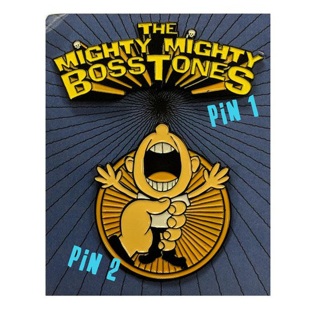 MIGHTY MIGHTY BOSSTONES While We're At It Lapel Pin Set