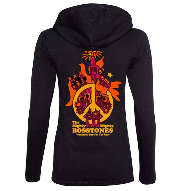 MIGHTY MIGHTY BOSSTONES Peace Hooded Longsleeve