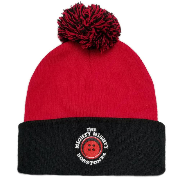 MIGHTY MIGHTY BOSSTONES Button Logo Pom Pom Beanie