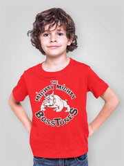 MIGHTY MIGHTY BOSSTONES Classic Dog Logo Red T-Shirt