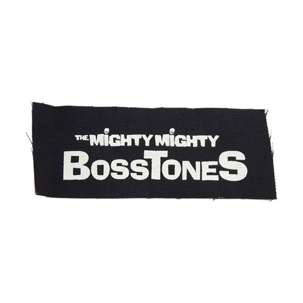 MIGHTY MIGHTY BOSSTONES White Solid Logo Patch