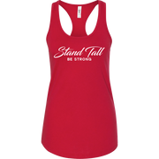 MEMF Stand Tall Be Strong Racerback Tank Top