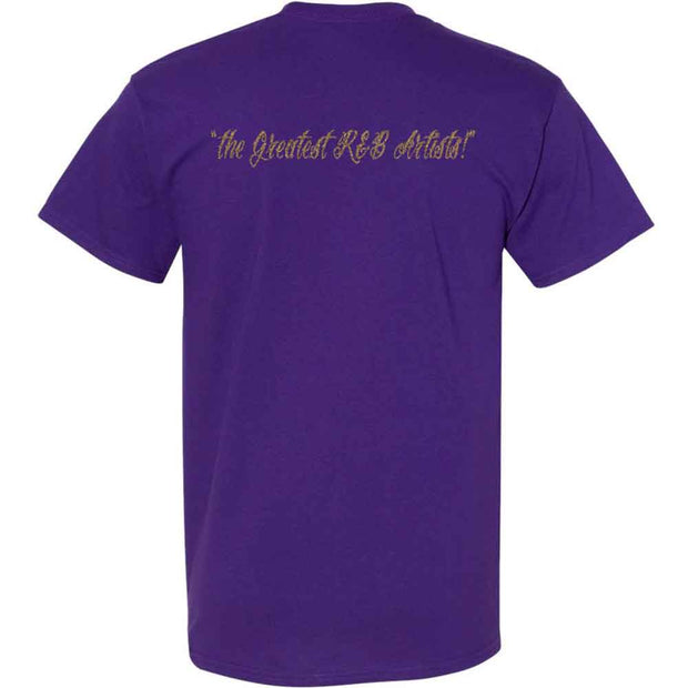 THE TEMPTATIONS Emperors of Soul Crest T-Shirt - Purple
