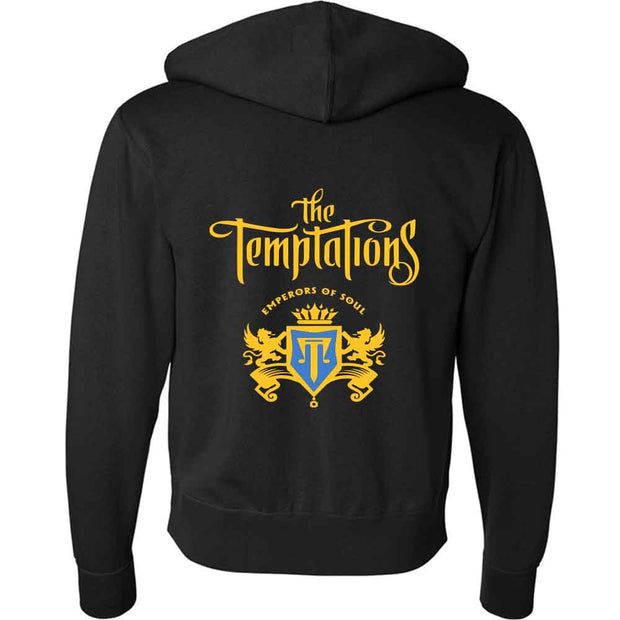 THE TEMPTATIONS Chest Crest Zip Hoodie