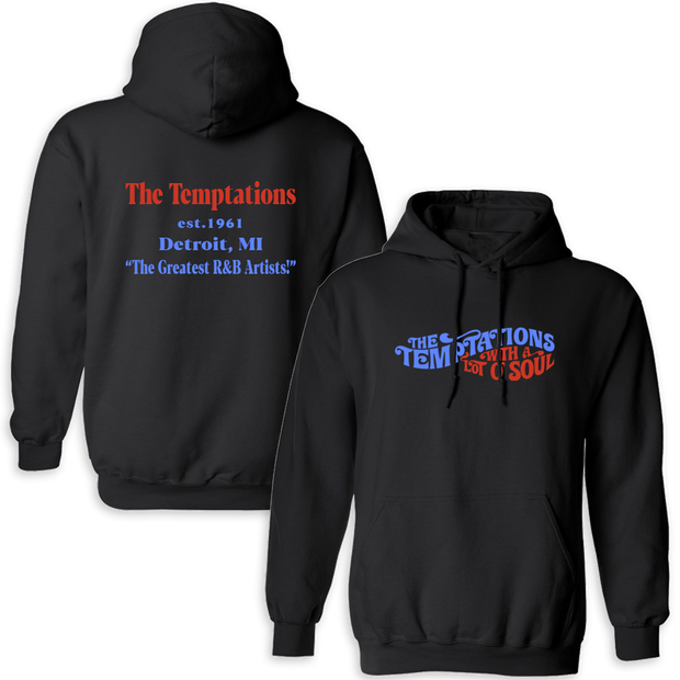 THE TEMPTATIONS Greatest R&B Artists Pullover Hoodie