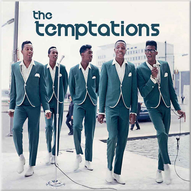 THE TEMPTATIONS Retro Photo Magnet
