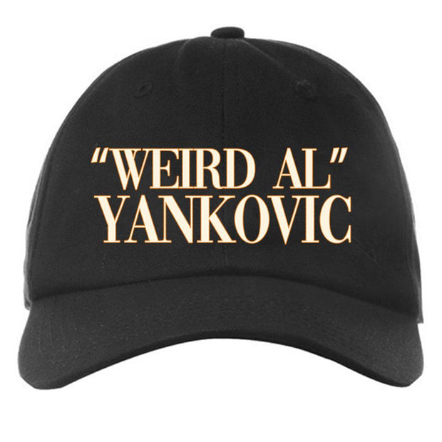 WEIRD AL YANKOVIC Logo Hat