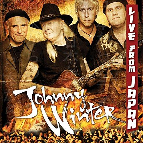 JOHNNY WINTER Live From Japan CD