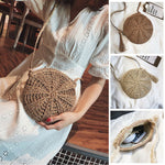 Bambouri Evelyn Straw bag