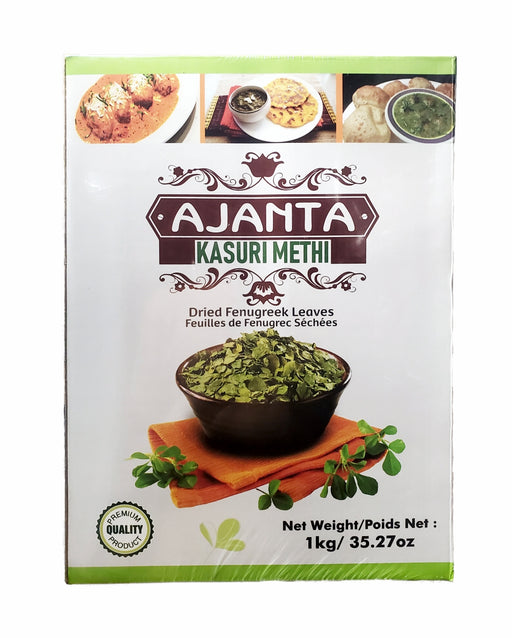 Ajanta Kasuri Methi 1Kg ( Dried Fenugreek Leaves) - Spice Divine