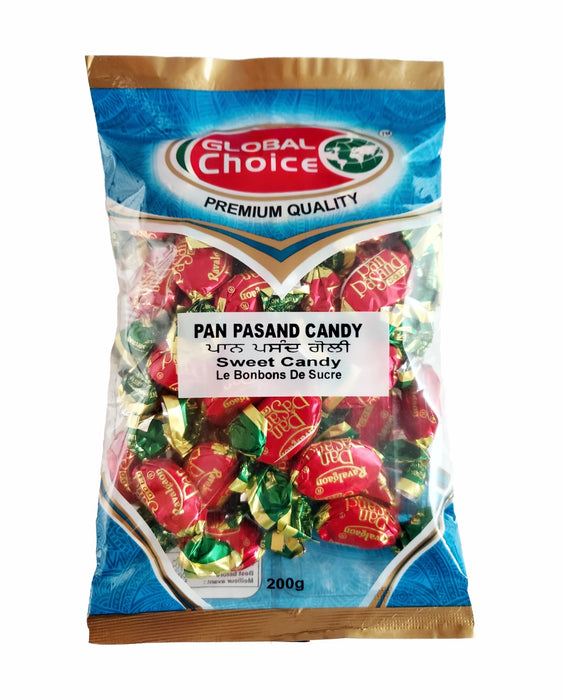 Global Choice Pan Pasand Candy 200gm - Spice Divine