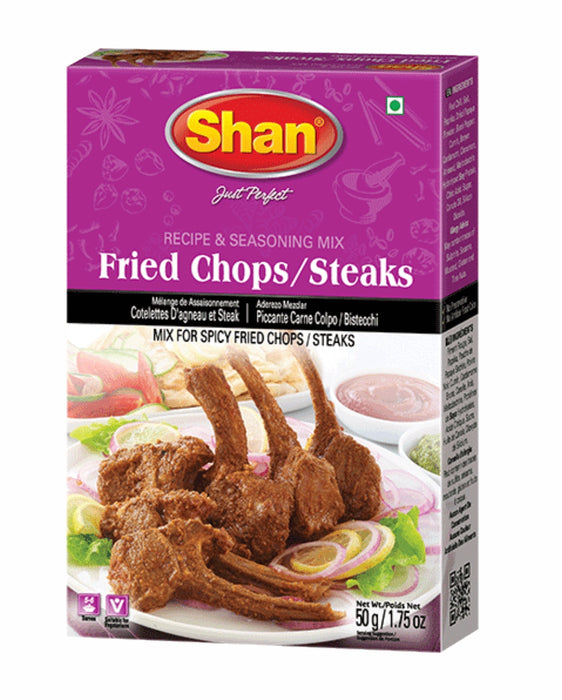Shan Seasoning Mix Fried Chops/Steaks 50g - Spice Divine