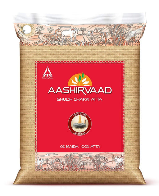Aashirvaad Whole Wheat Atta - Spice Divine