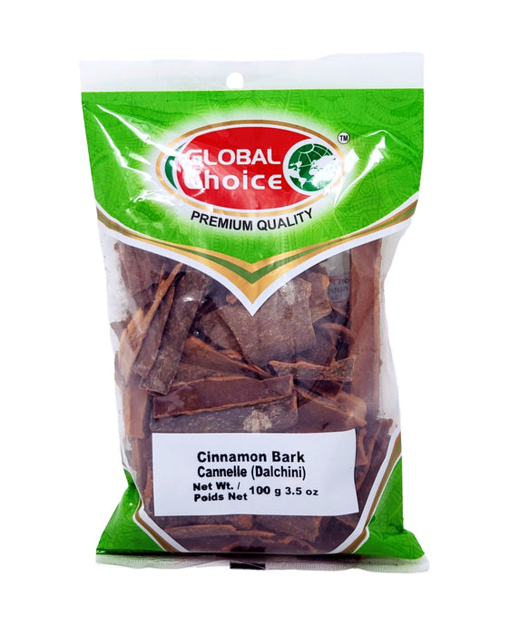 Global Choice Cinnamon Bark 100gm (Dalchini) - Spice Divine