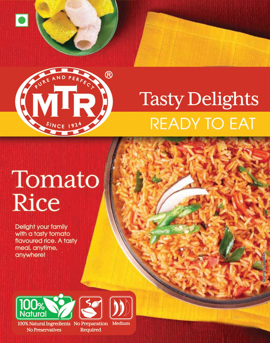 Mtr Ready to eat Tomato rice 250g - Spice Divine