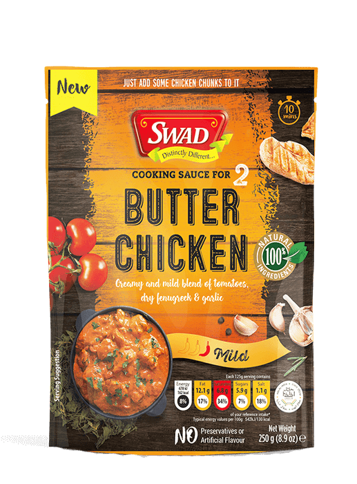 Swad Butter Chicken Cooking Sauce 250 gm - Spice Divine