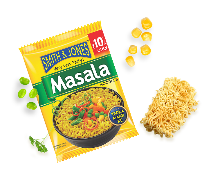 Smith & jones Masala noodles 60g - Spice Divine