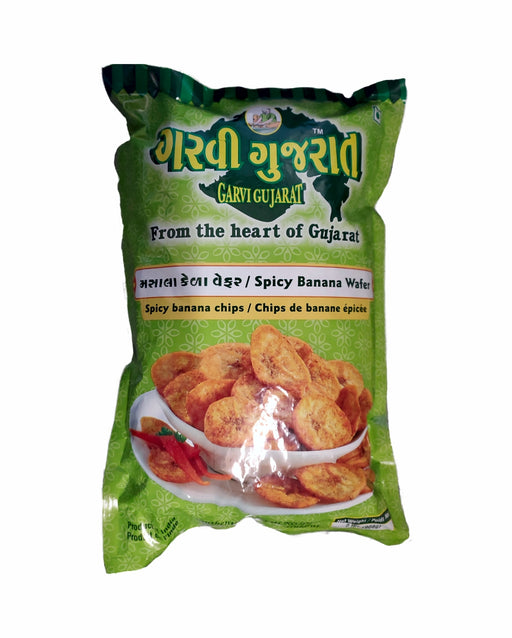 Garvi Gujarat Spicy Banana Wafer - Spice Divine
