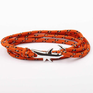 Load image into Gallery viewer, Handcrafted Shark Charm Bracelet