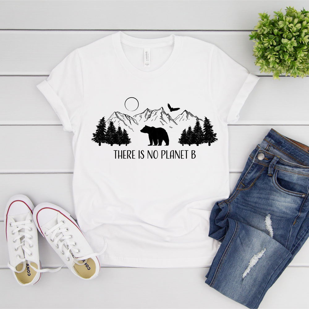 There Is No Planet B Mountain T-Shirt