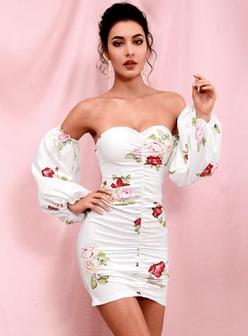 robe de cocktail bustier courte