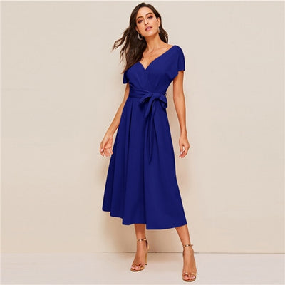 Robe Cocktail Mi Mollet