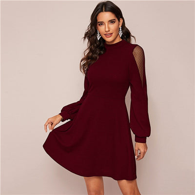 Robe Cocktail Patineuse