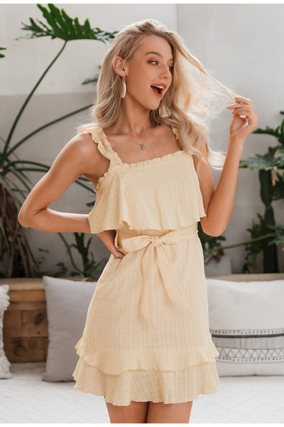 Robe Cocktail Beige