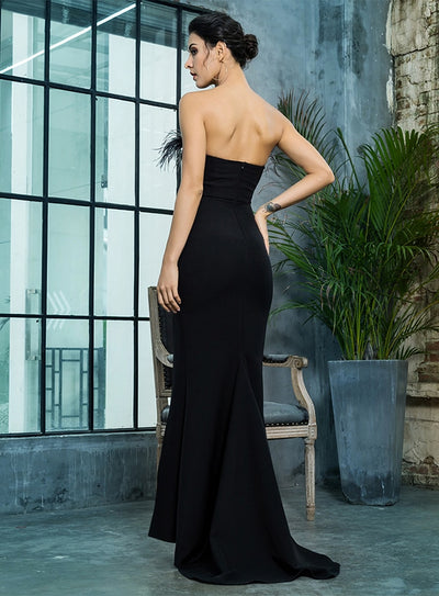 Robe Cocktail Grande Taille Longue