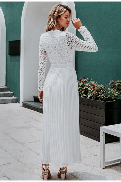 Robe Cocktail Mariage Longue