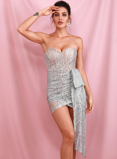 Robe Cocktail Bustier | Ma Robe Cocktail